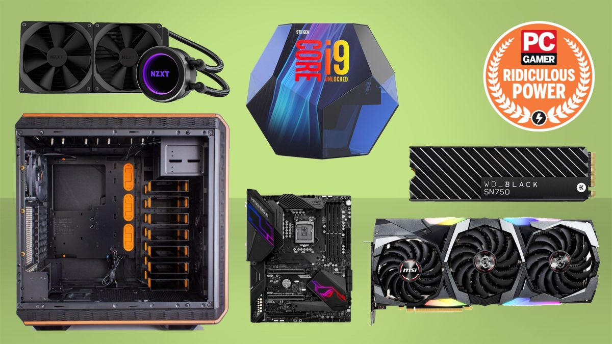 Extreme gaming PC build