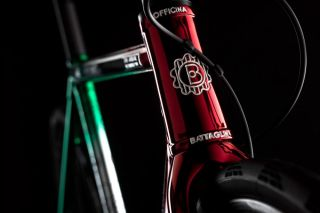 A tricolore Officina Battaglin bike