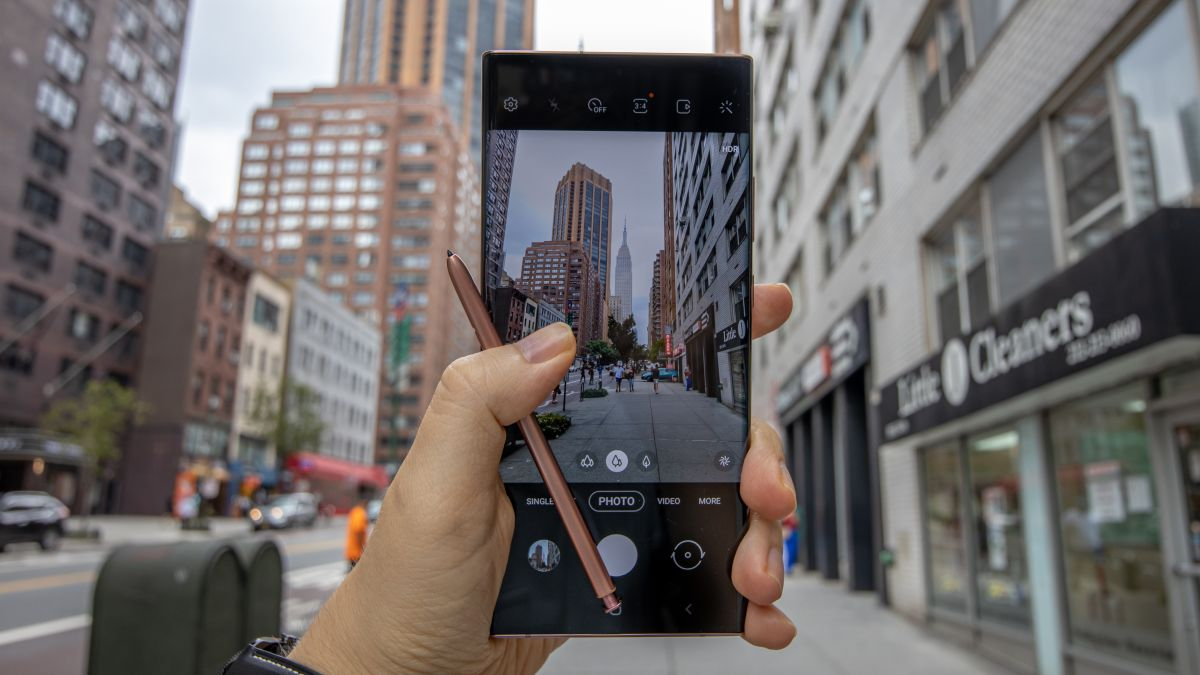 24 hours with Samsung Galaxy Note 20 Ultra: first photos and that big display – TechRadar