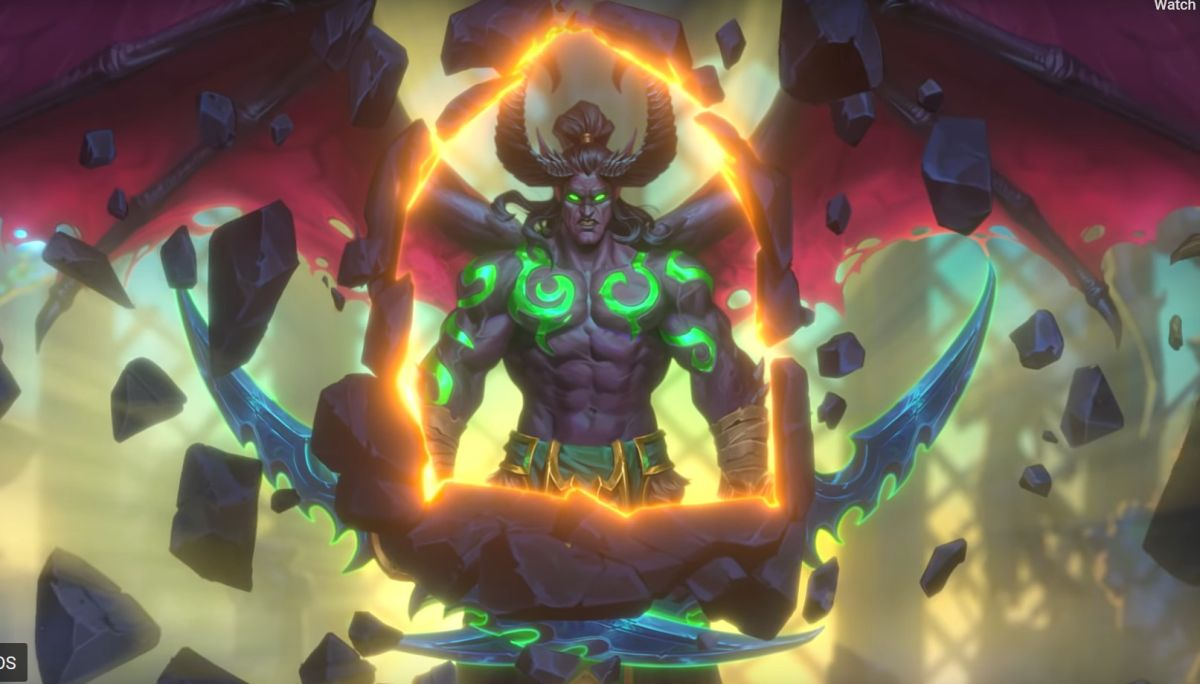 Hearthstone's Demon Hunter class is already getting nerfed