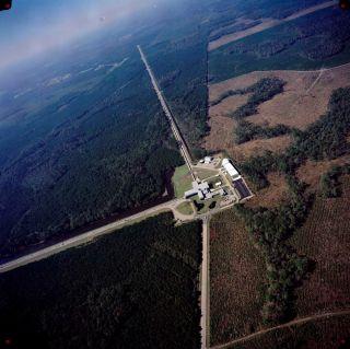 Aerial View of LIGO