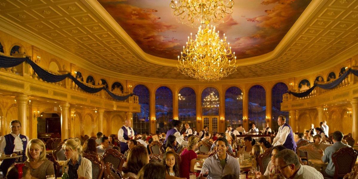 Be Our Guest restaurant at Walt Disney World