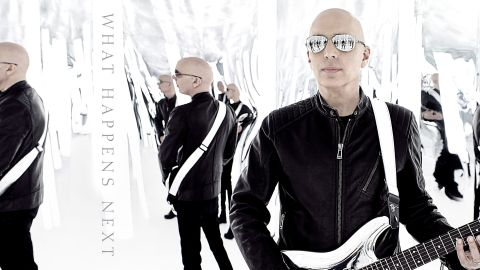 Cover art Joe Satriani - What Happens Next album