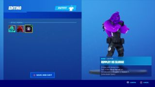 Fortnite Rippley vs Sludge Outfit Style