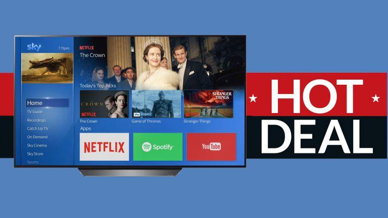 LG OLED TV free Sky TV deal
