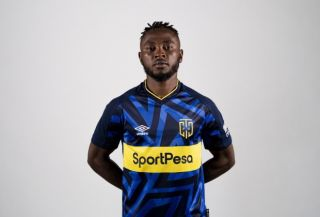Abdul Ajagun of Cape Town City