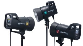 Elinchrom ELC 500 and ELC 125 monobloc studio lights