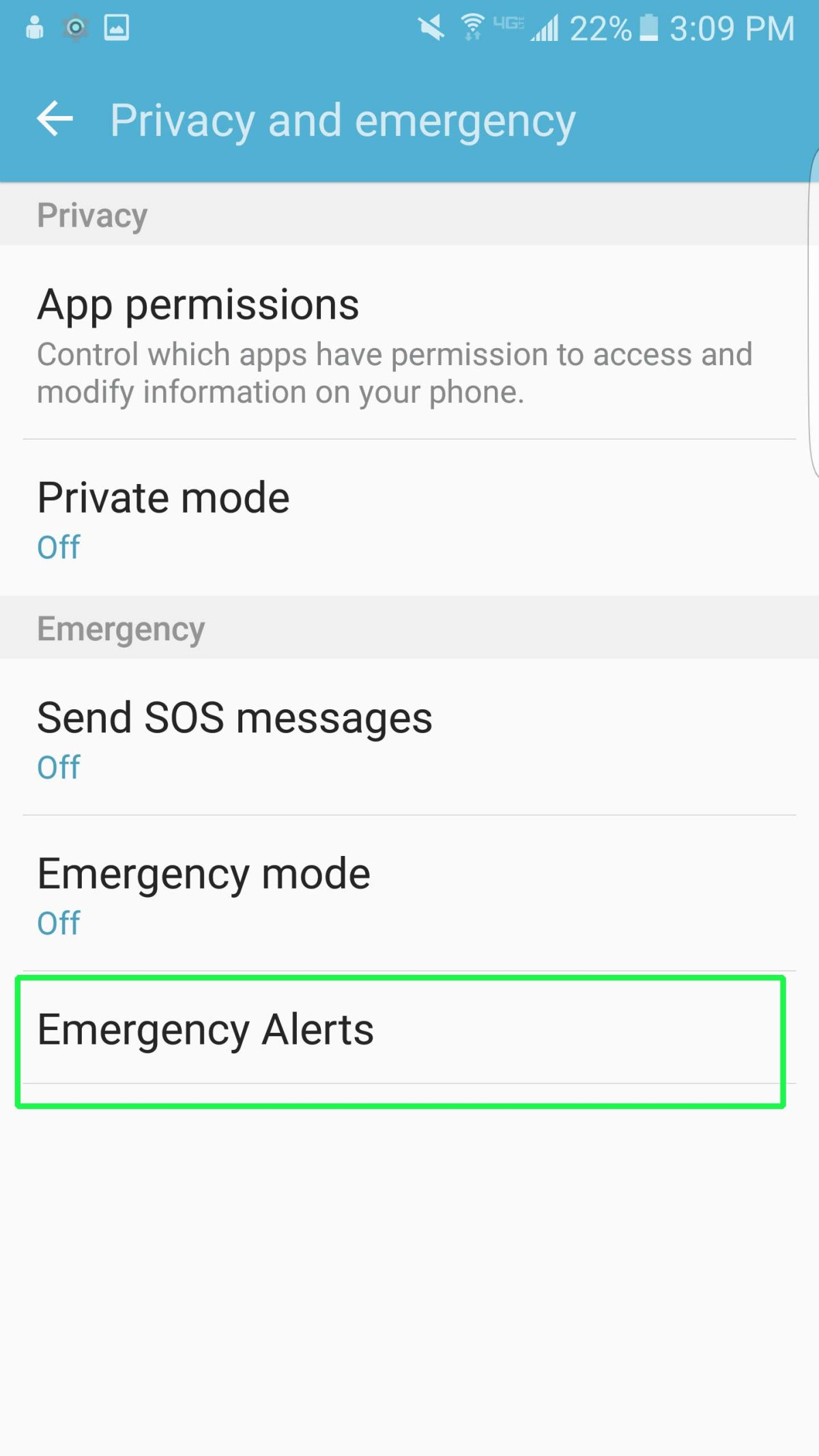 How to Disable Emergency or Amber Alerts on Your Galaxy S7