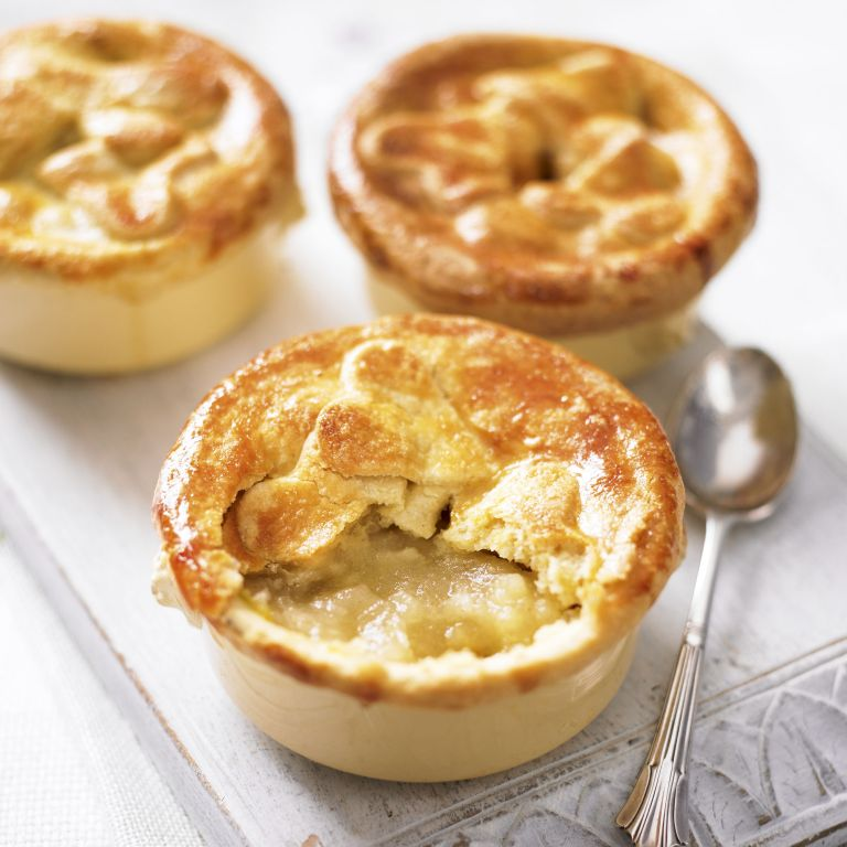 Petite Apple Pies-woman and home