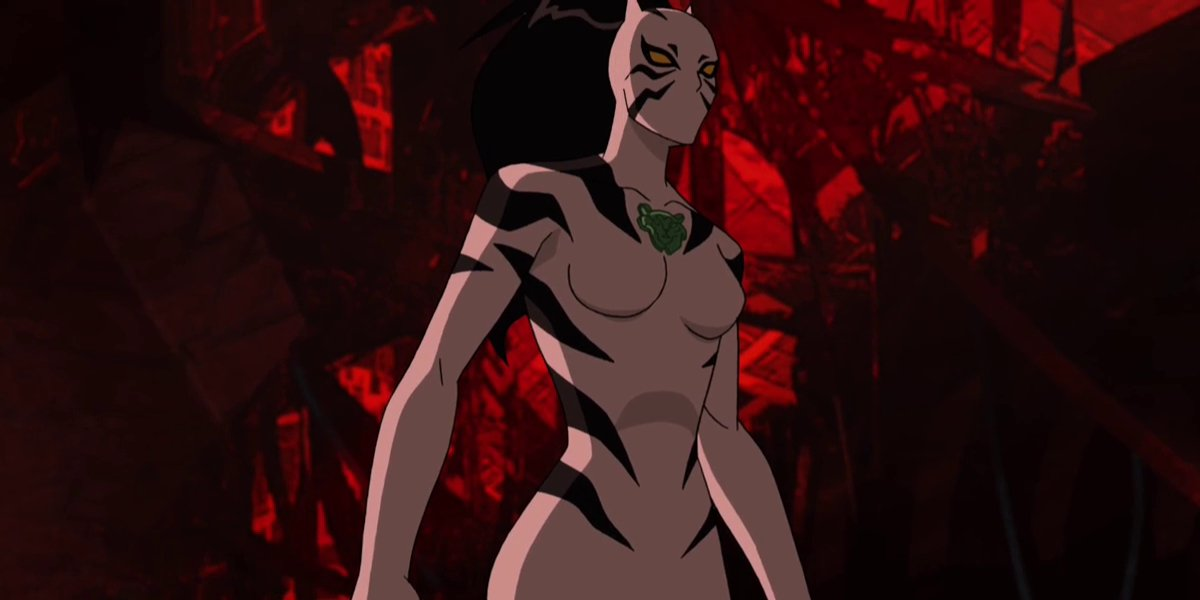 Caitlyn Taylor Love as the voice of White Tiger on Ultimate Spider-Man