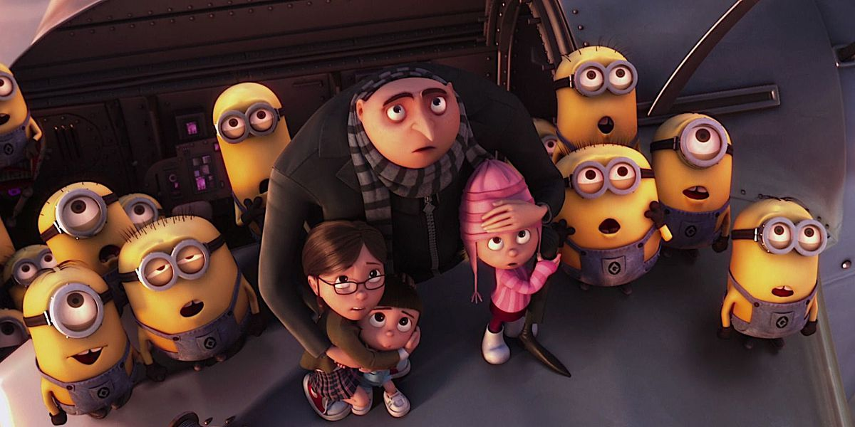 Steve Carell's character Gru in Despicable Me