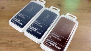 Samsung S9 Clear View cases