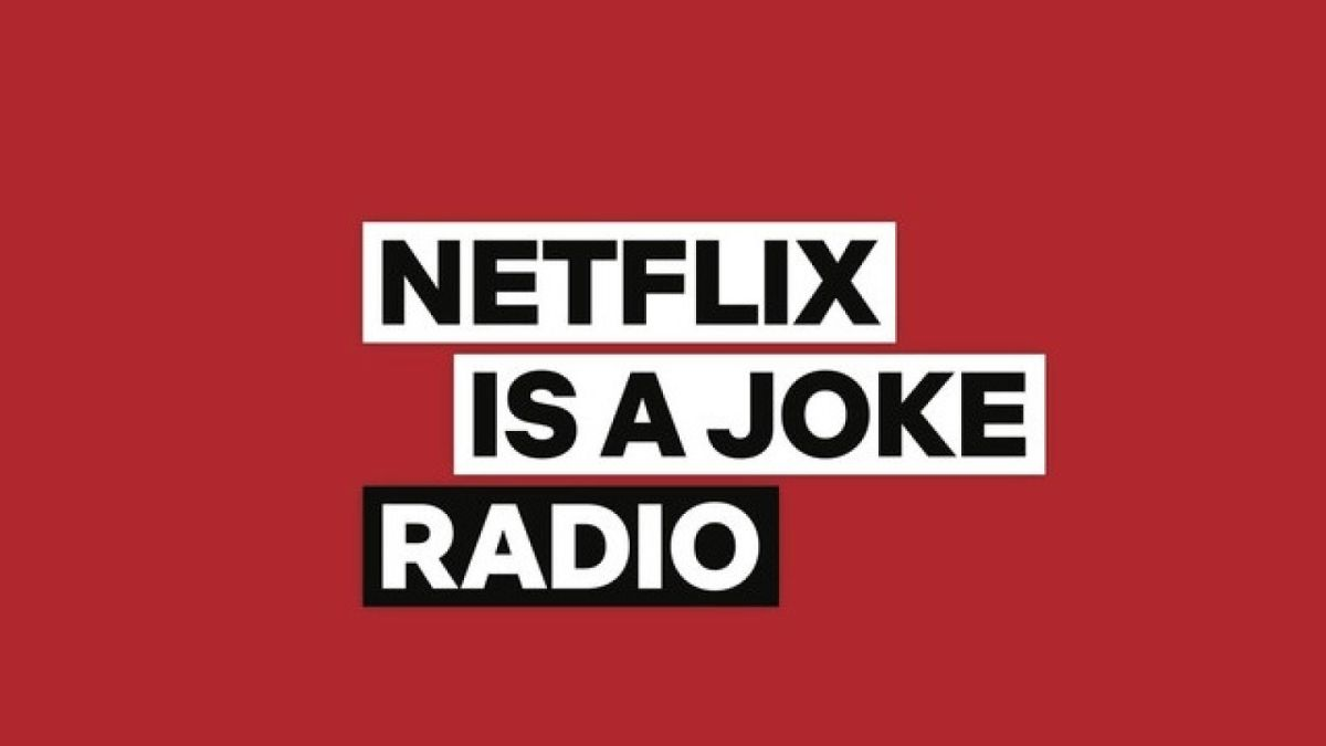 Netflix is launching its own comedy radio station