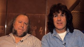 VH1 Photo of Gary MOORE and Peter GREEN, Peter Green & Gary Moore