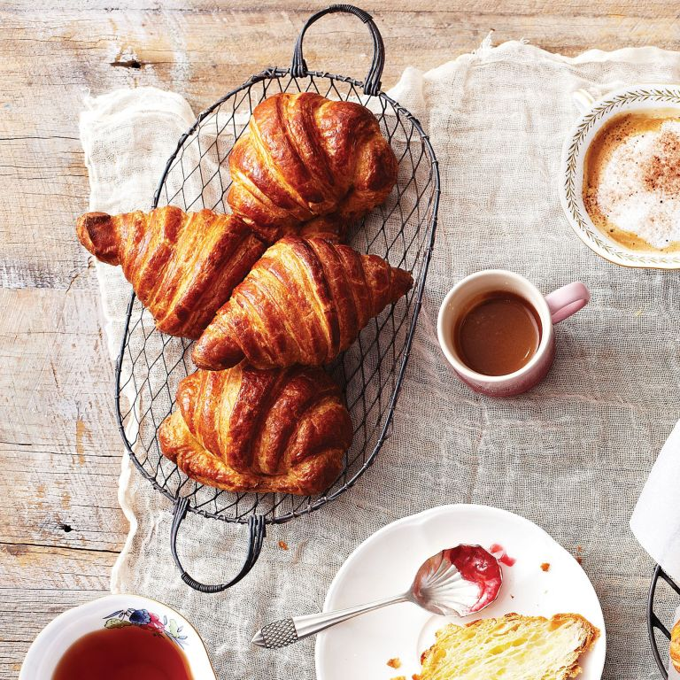 croissant dough photo