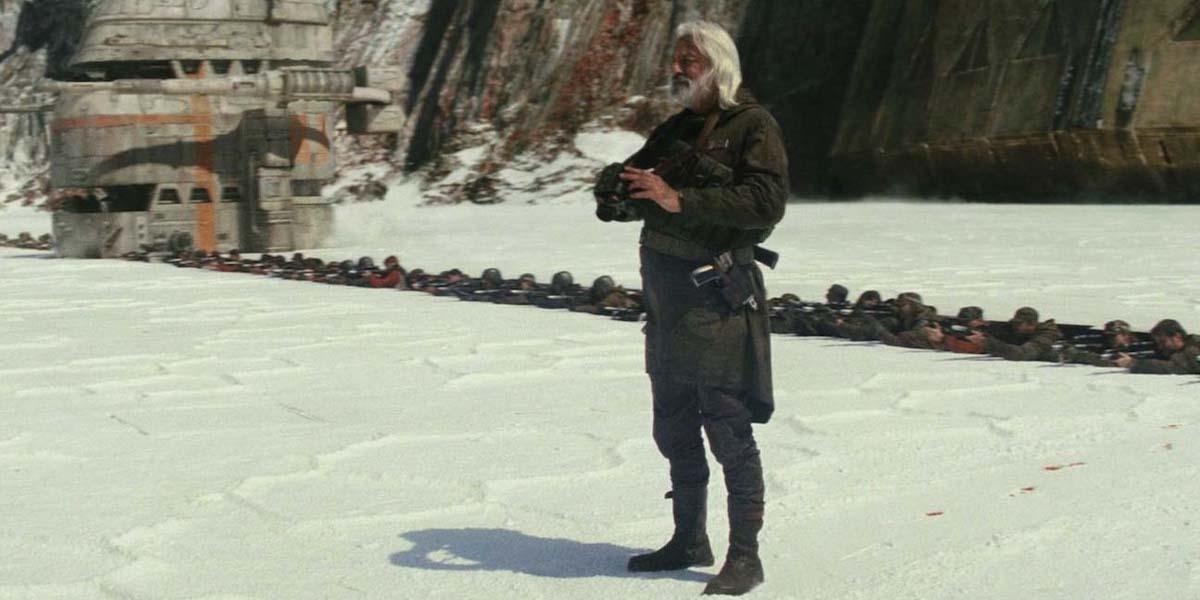 Andrew Jack in Star Wars: the Last Jedi