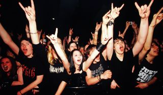 Heavy metal fans are some of the happiest according to a new study