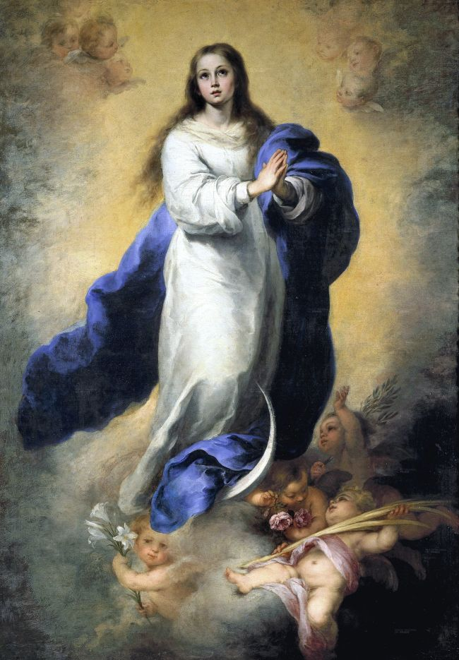 Famosa pintura de 'Imaculada Concepção' é irreconhecível após falha na restauração da arte