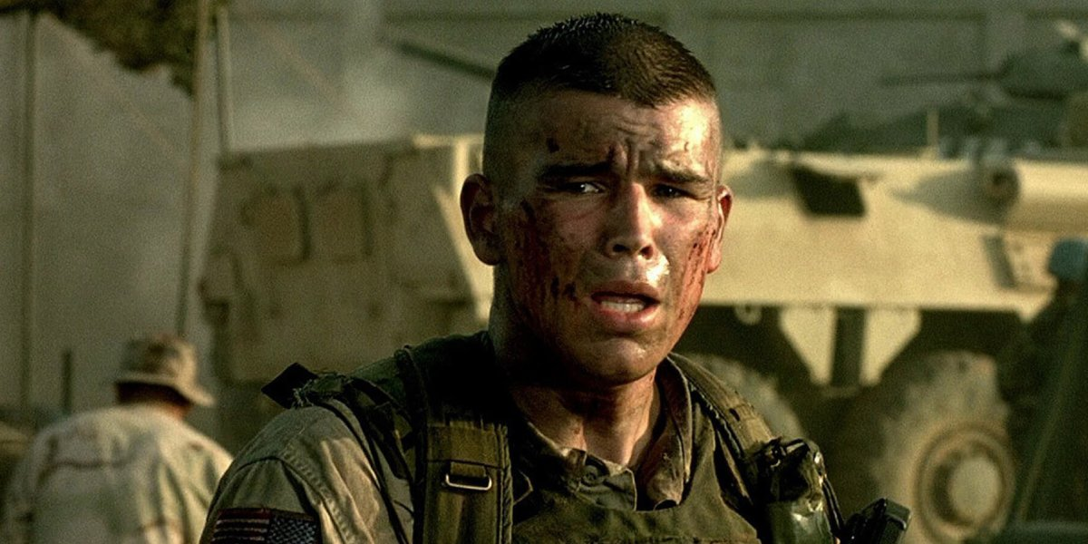 Josh Hartnett in Black Hawk Down
