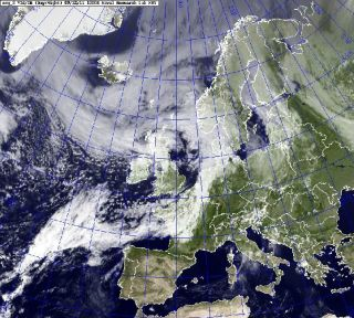 Katia moves toward Britain as a post-tropical storm on Sept. 12.