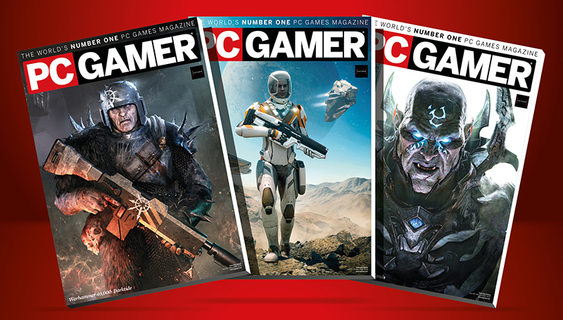 Get 10% off PC Gamer magazine subscriptions for Mother's Day