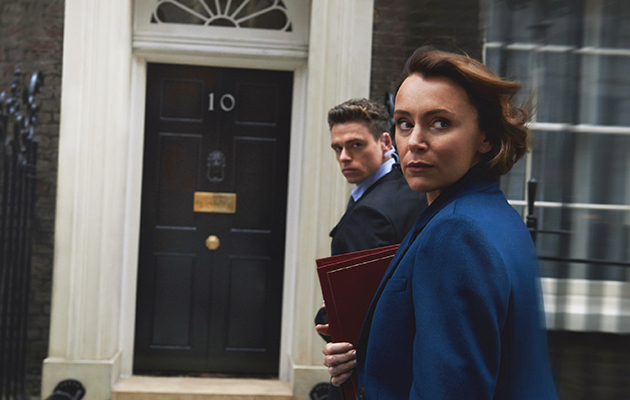 Bodyguard star Keeley Hawes is transformed for her latest role - here she reveals all