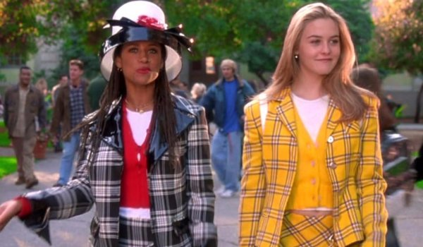 Clueless Stacy Dash and Alicia Silverstone show up to school dressed to kill
