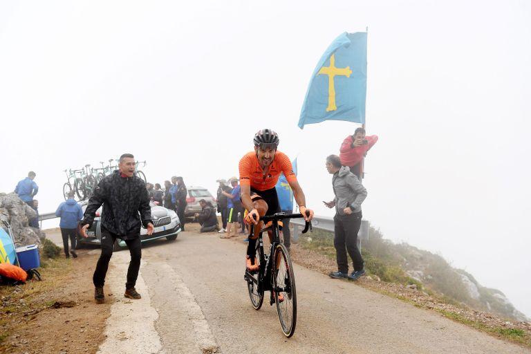 Luis Ángel Maté at the Vuelta a España 2021