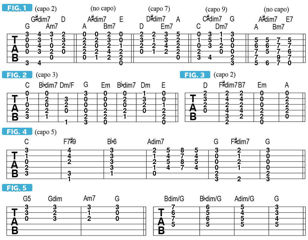"How to Use the ""Spooky"" Dimished Seven Chord 