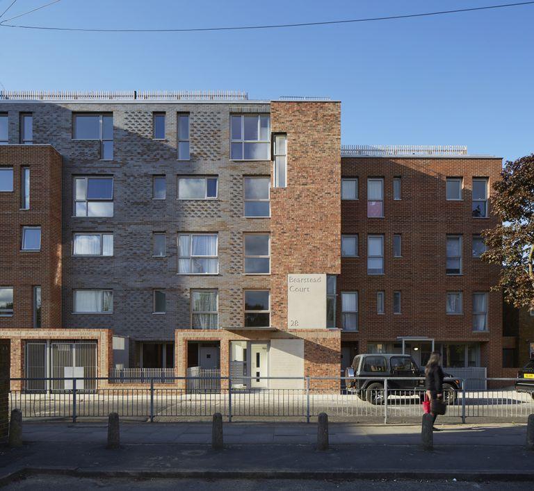 Peabody Trust Underwood Road, London, United Kingdom. Architect: Brady Mallalieu Architects Ltd, 2015.