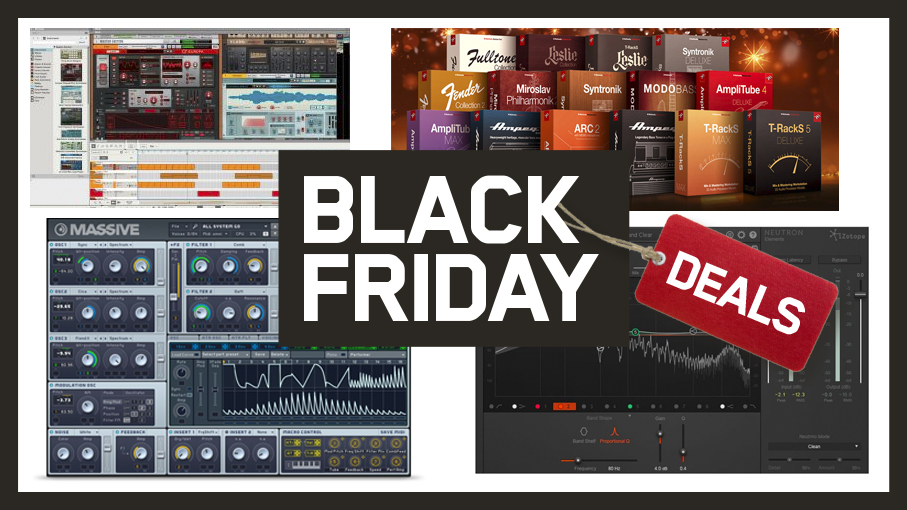 The best Black Friday music software deals: DAW, plugin and sample discounts for producers