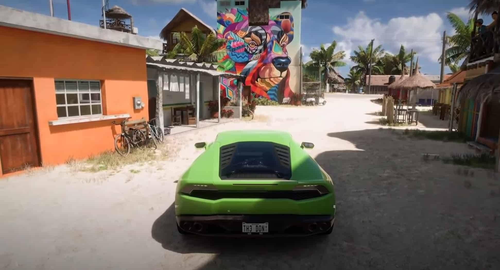 Forza Horizon 5 city artwork