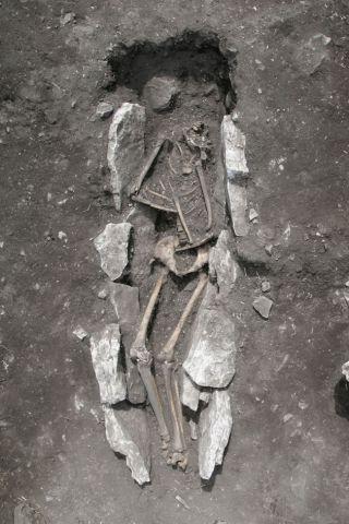 Skeleton of Teenage Male on Mount Lykaion