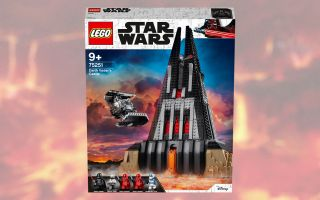 The Lego Star Wars Darth Vader's Castle set is 40% off on Amazon for Cyber Monday.