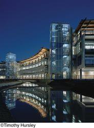 Draper Shades Reduce Glare In LEED Platinum Building