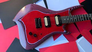 Burls Art Paper Guitar