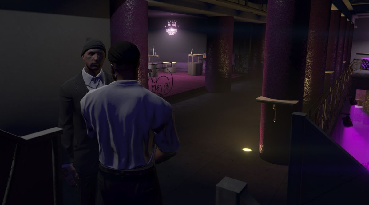 I became a vampire with a nightclub as my lair in a GTA 5