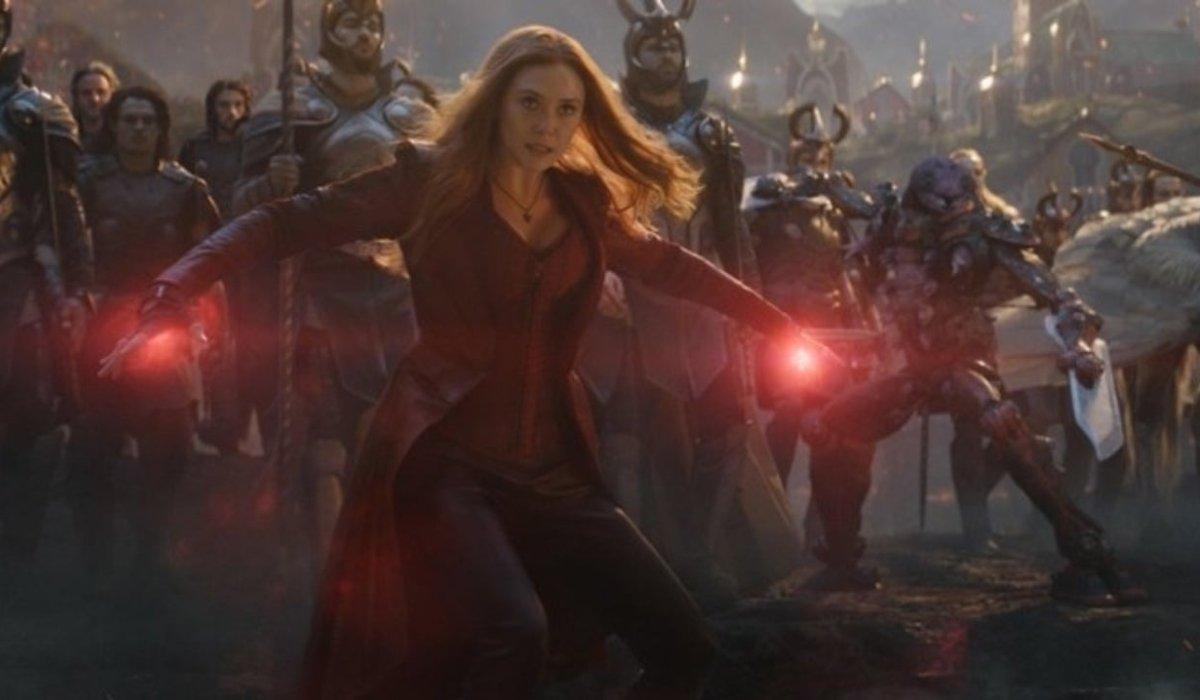 Avengers: Endgame Wanda coming through the portal