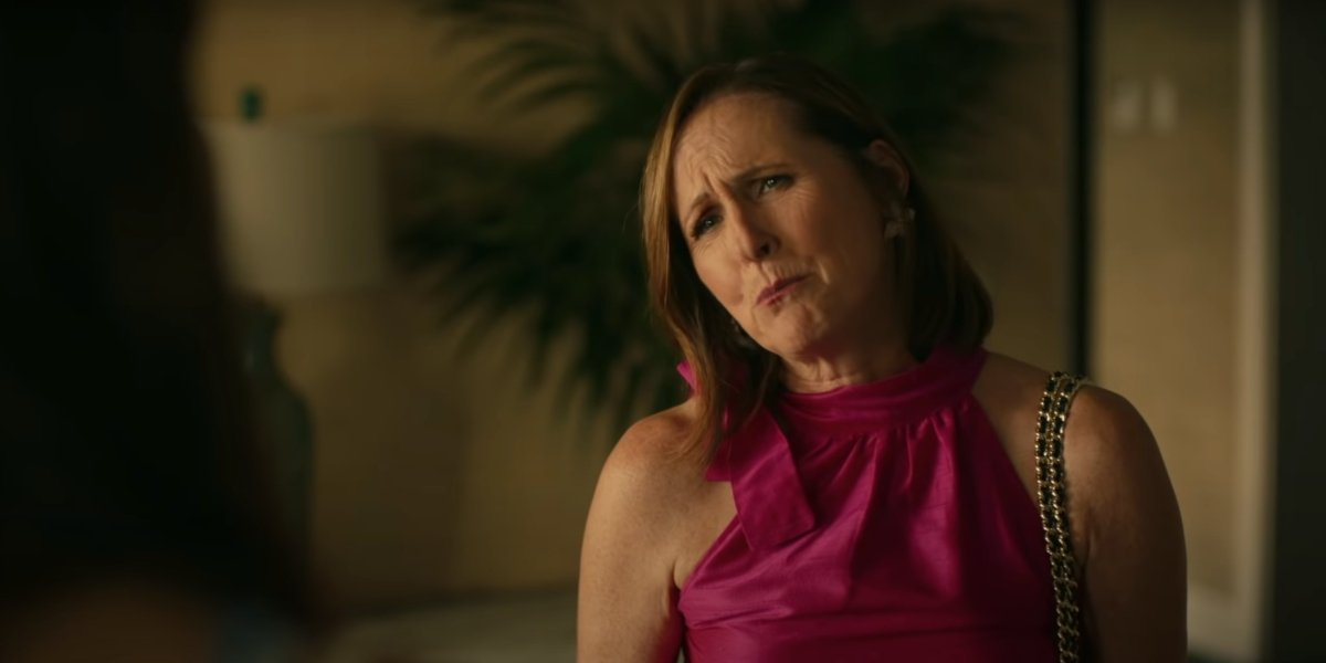 Molly Shannon on The White Lotus