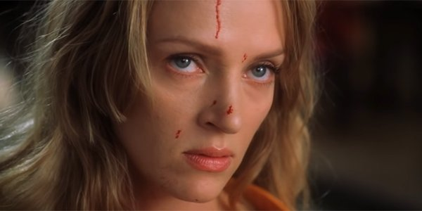 The Bride staring down her foe in Kill Bill: Vol. 1