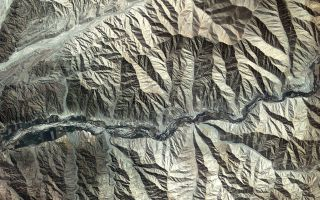 Kompsat-2 Captures Andes Mountains in Peru 1920