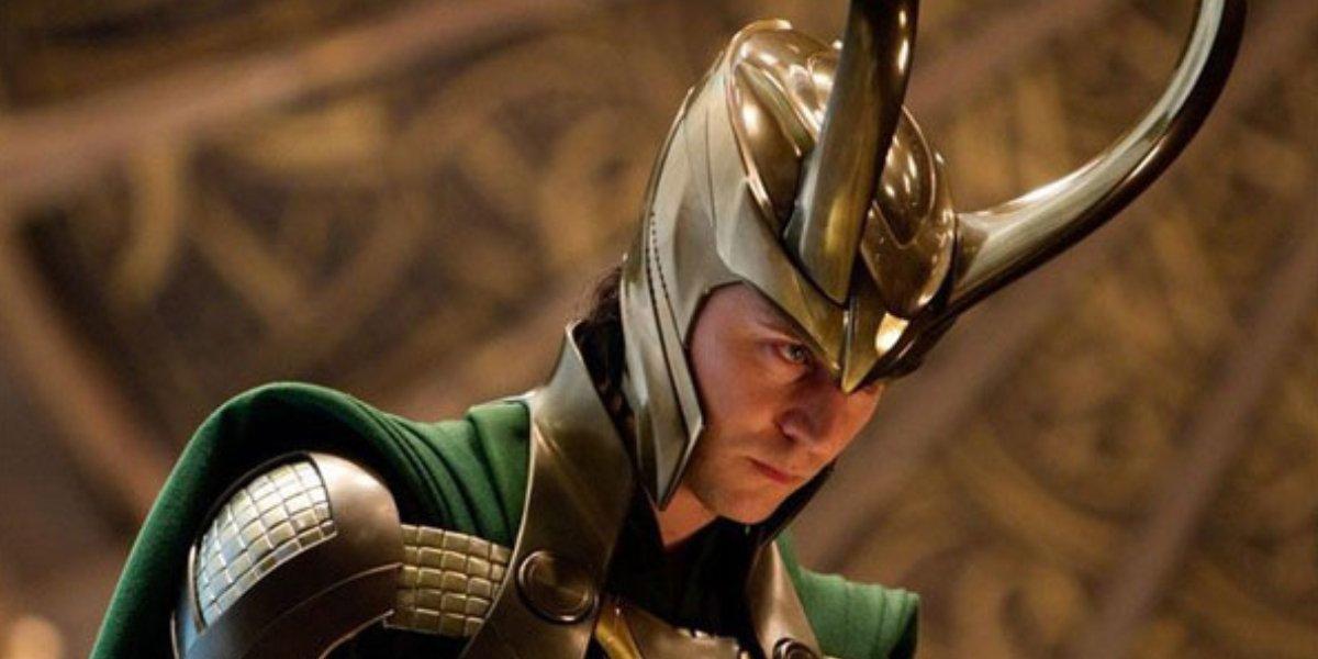 Tom Hiddleston as Loki in Thor