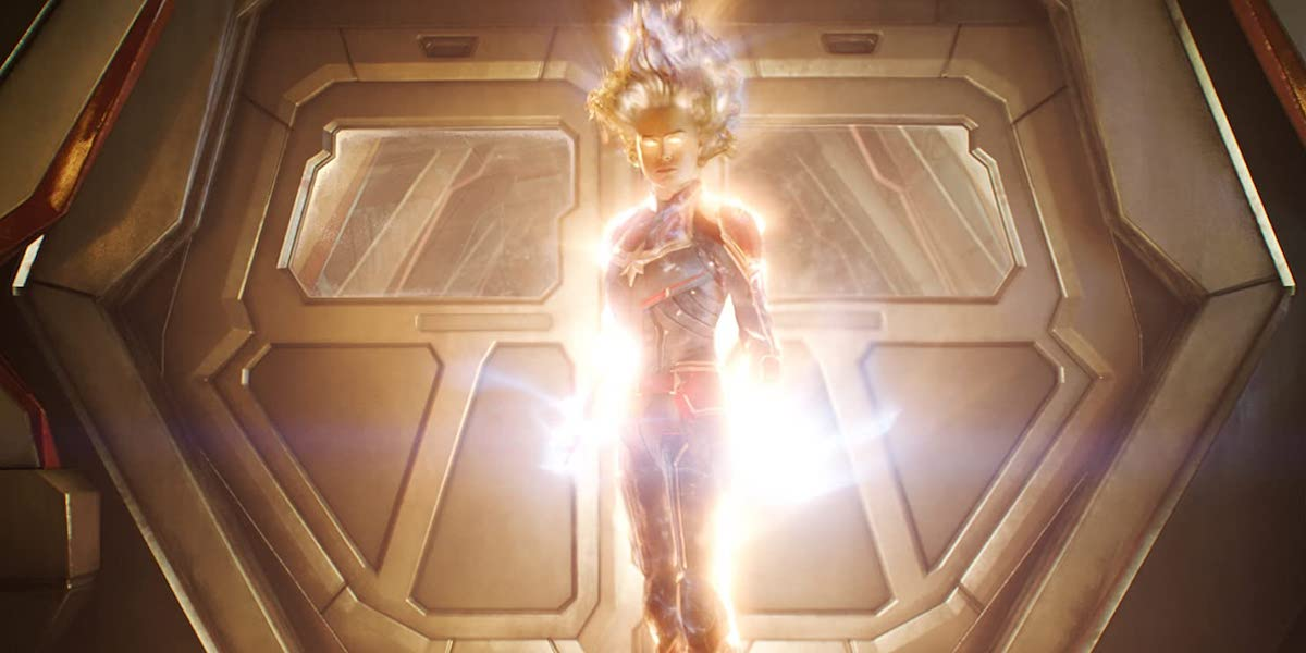 Brie Larson as Captain Marvel in 2019 standalone film