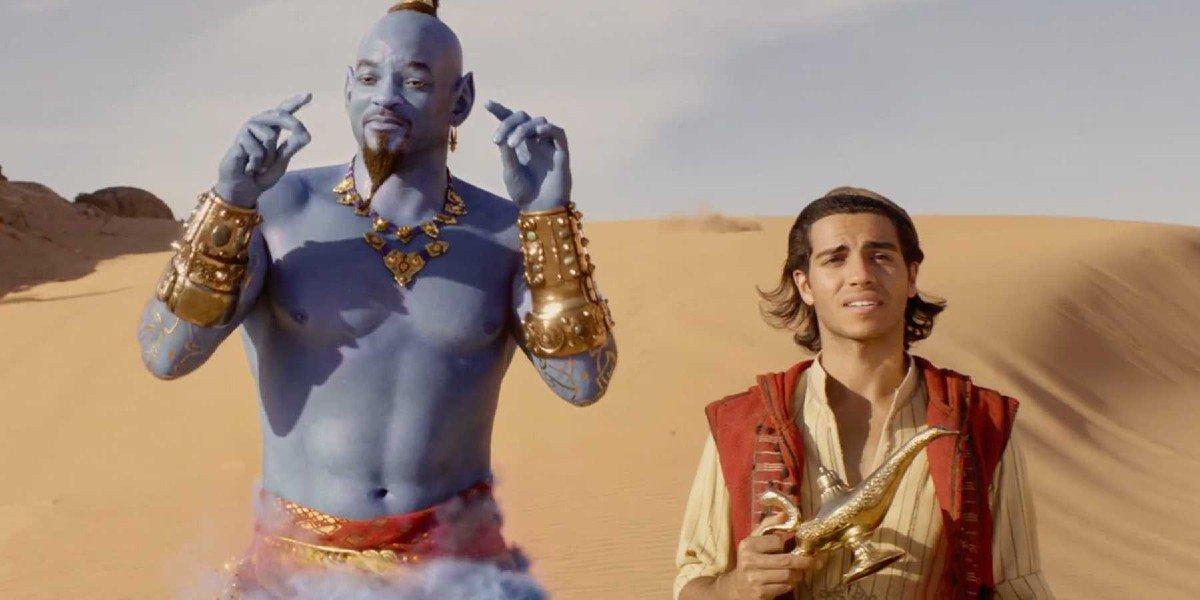 Will Smith, Mena Massound - Aladdin (2019)