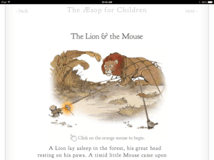 Class Tech Tips: Aesop's Fables Go Mobile