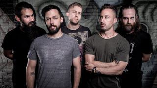 A promotional picture of The Dillinger Escape Plan