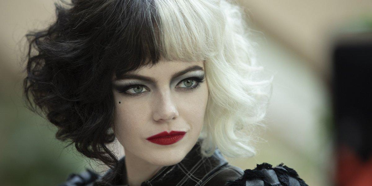 Emma Stone as Cruella in the titular movie, Cruella.