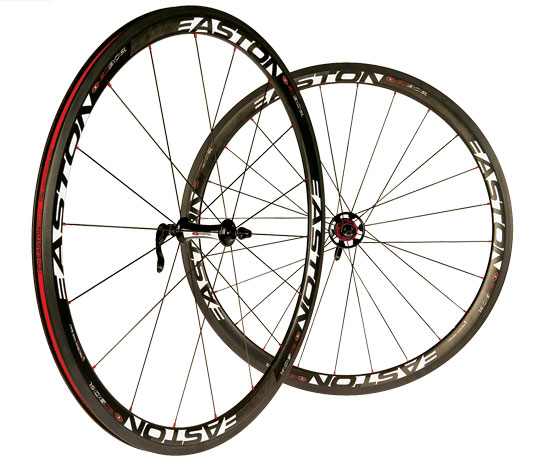 Easton EC90SL carbon clincher wheels
