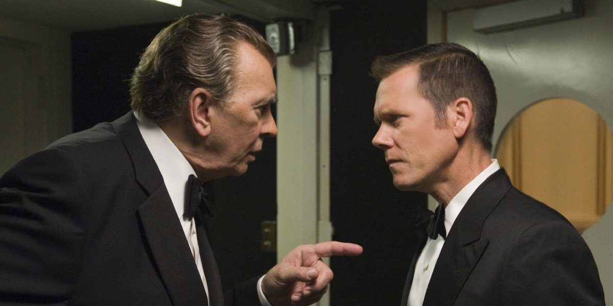Frank Langella and Kevin Bacon in Frost/Nixon