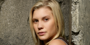 Battlestar Galactica's Katee Sackhoff Goes Into Beast Mode For Shirtless Handstand Challenge
